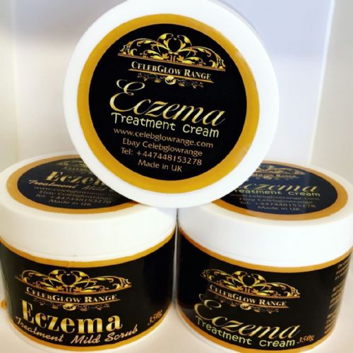 Eczema Treatment cream and mild Scrub 350g